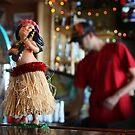 Bar Top Hula Girl by J. Sprink