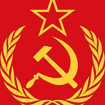 Cold War Communist Flag by Chocodole