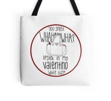 195d991c5b9a WHAHHAHAWAHHA lipstick in my valentino white bag  (vine)