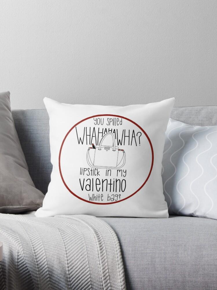 5422295f1944 WHAHHAHAWAHHA lipstick in my valentino white bag  (vine)