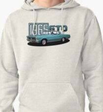 1965 Pontiac GTO 400 Classic Muscle Car Pullover Hoodie