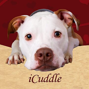 iCuddle Pitbull Dog by Shana1065