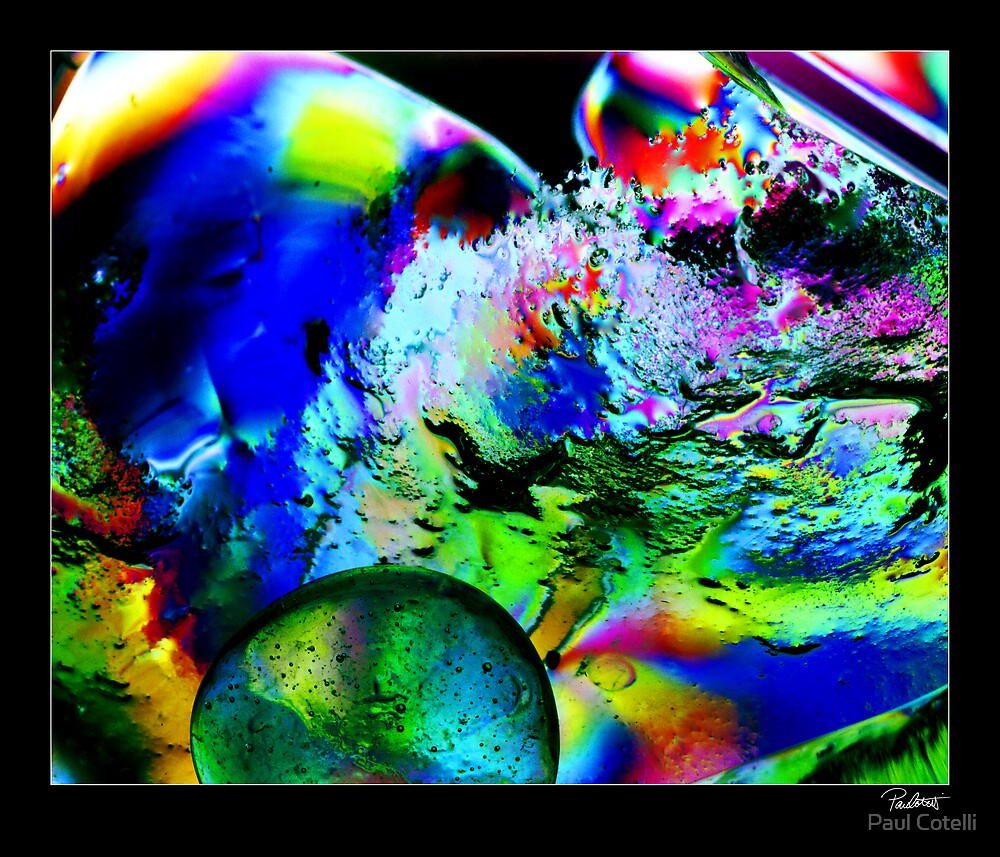 Polarised Glass # 1 by Paul Cotelli