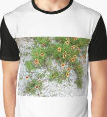 Beautiful Yellow Wildflowers Graphic T-Shirt