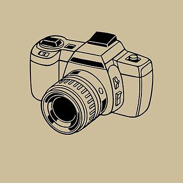 Retro 35mm Camera  by TheNewAntique