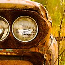 Rusty Truck HeadLights by georgiaart1974