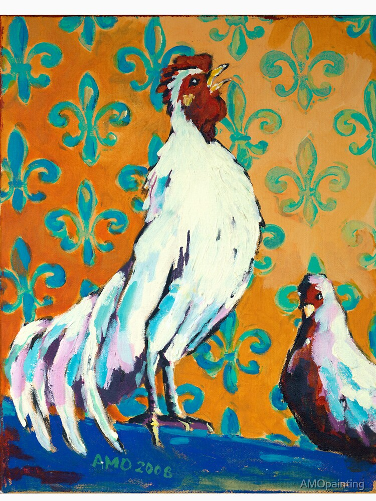 Codman Rooster by AMOpainting