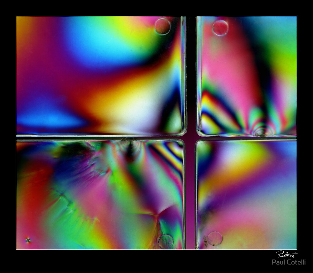 Polarised Glass # 3 by Paul Cotelli