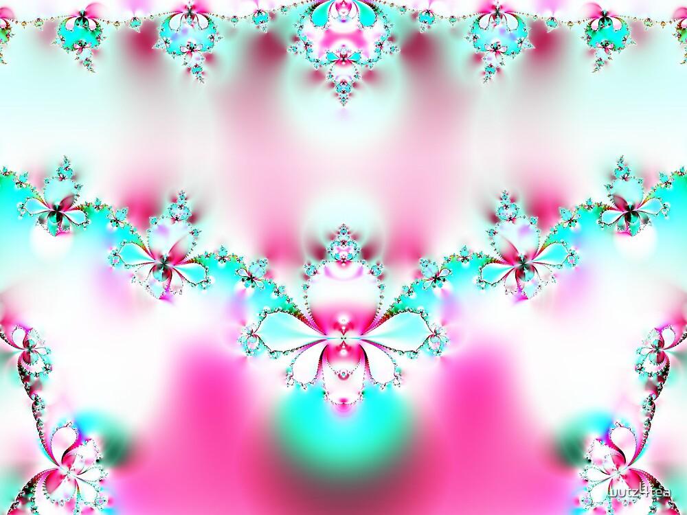 fractlflower necklace by wutz4tea