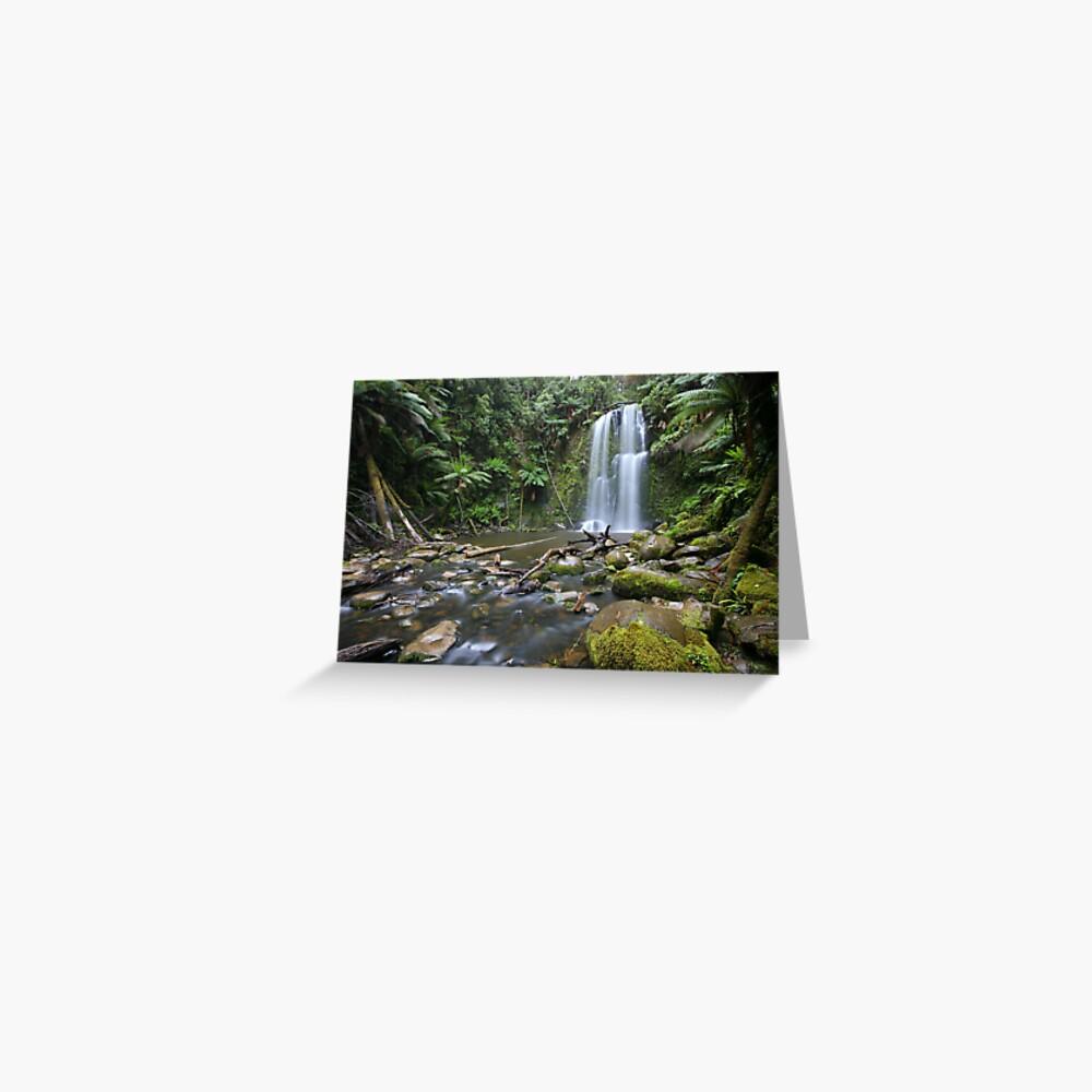 Beachamp Falls, Otways National Park, Australia Greeting Card