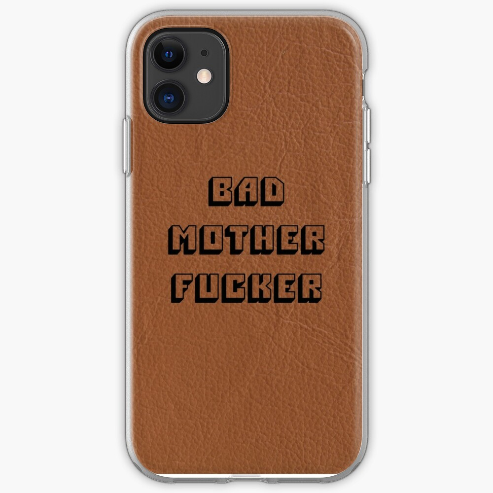 Bad Mother Fucker - Pulp Fiktion iPhone-Hülle & Cover