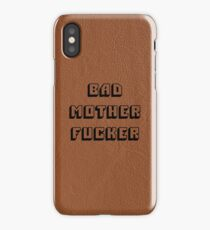 Bad Mother Fucker - Pulp Fiction iPhone Case/Skin