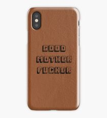 Good Mother Fucker - Pulp Fiction iPhone Case/Skin