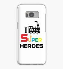 I Train Super Heroes Samsung Galaxy Case/Skin