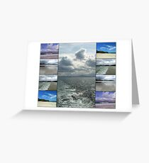 Marine Collage - Western Isles Greeting Card