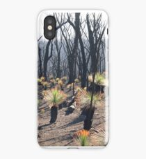 Recovering grass trees iPhone Case/Skin