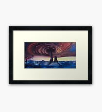The Vortex - Borderlands 2 Inspired Oil Painting Framed Print