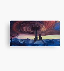 The Vortex - Borderlands 2 Inspired Oil Painting Canvas Print