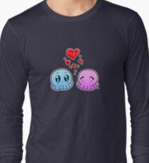 True Love: Tako-Chan V Day Shirt Long Sleeve T-Shirt