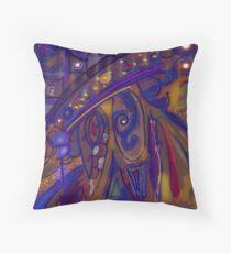 Peinture abstrait  Floor Pillow
