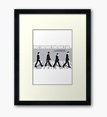 3 PHd's and a Master's Degree Framed Print