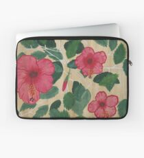 Hibiscus Shrub Laptop Sleeve