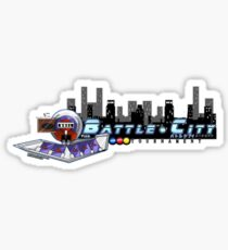 Battle City Tournament Logo Sticker