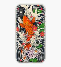 Koi Fish Pond  iPhone Case