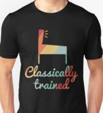Classically Trained Vintage Pinball Unisex T-Shirt