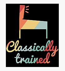 Classically Trained Vintage Pinball Photographic Print