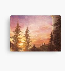 Warm Snow (Only 35!) Canvas Print