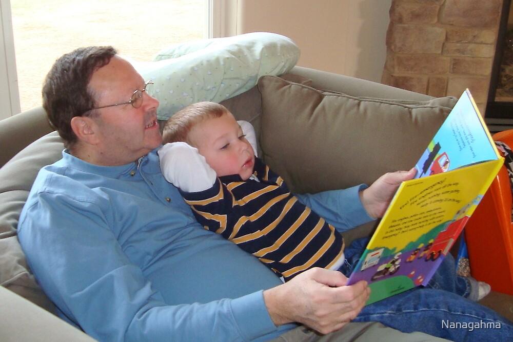 Papa, would you read me a story? by Nanagahma