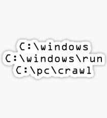 Windows is Loading Sticker