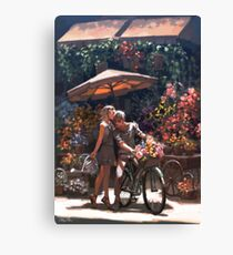 Those Were the Days Canvas Print