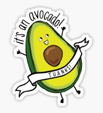 It's an avocado- Thanks! Sticker