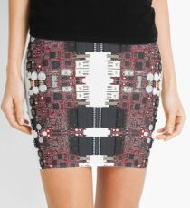 Pairpunk, Cyberpunk, Techno Punk,Technopunk,  Science Fiction Mini Skirt