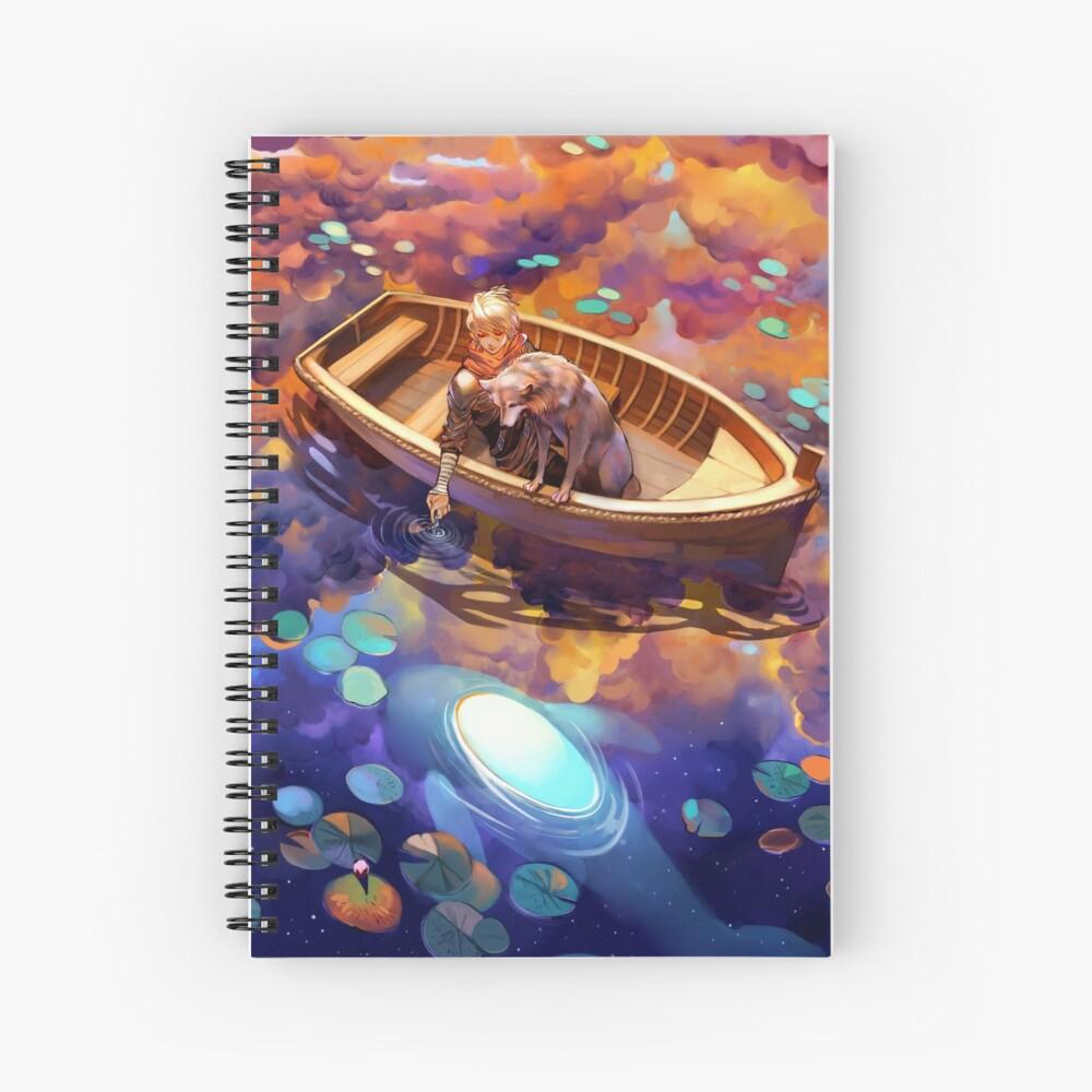 Wander in Wonder Spiral Notebook
