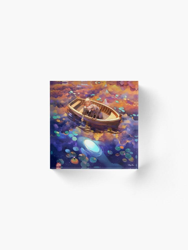 Alternate view of Wander in Wonder Acrylic Block