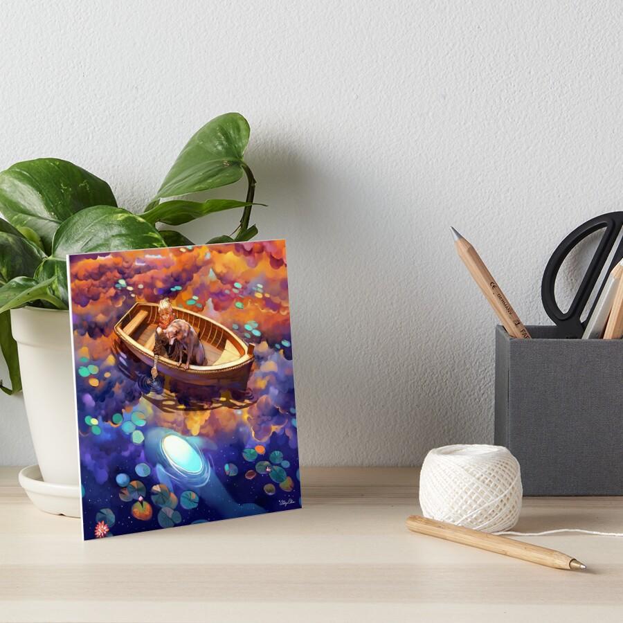 Wander in Wonder Art Board Print
