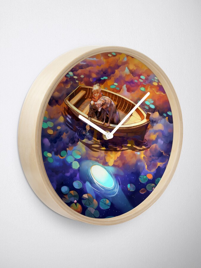 Alternate view of Wander in Wonder Clock