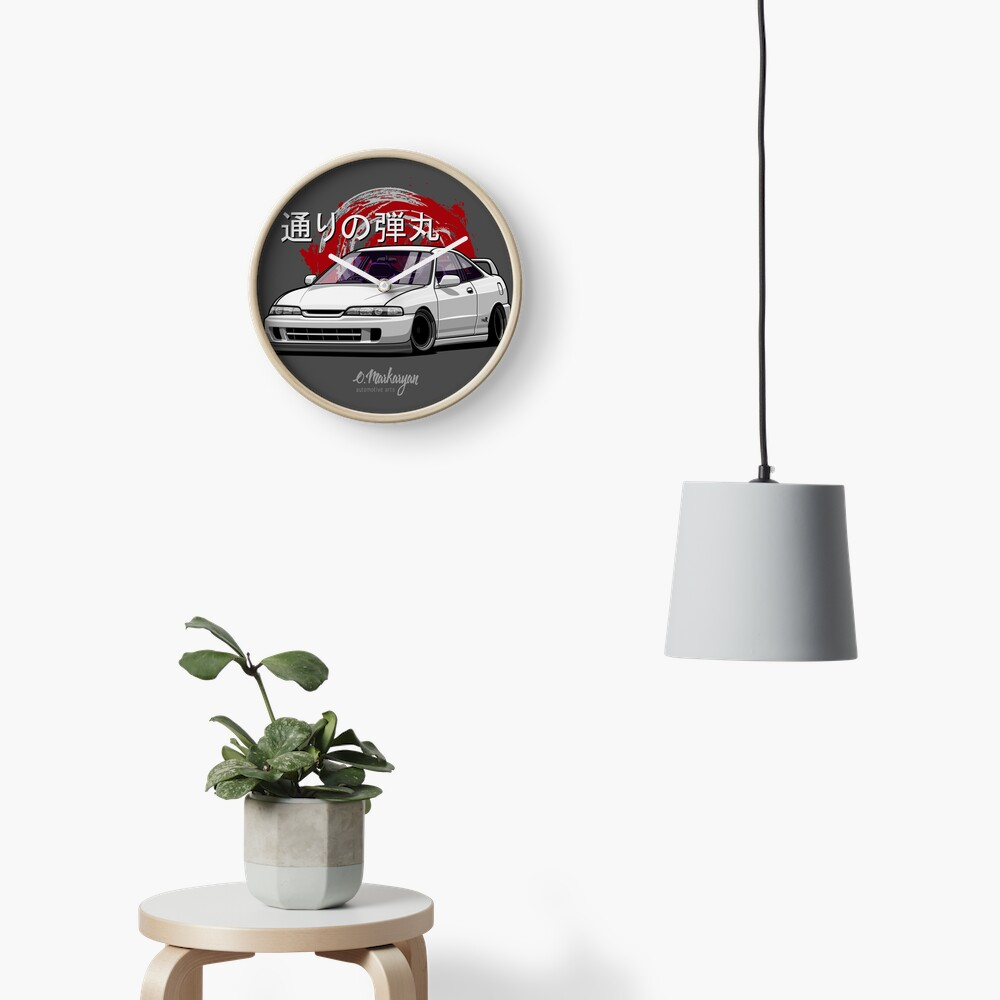 Integra DC2 (white) Clock