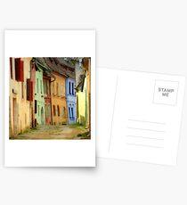 colors Postcards