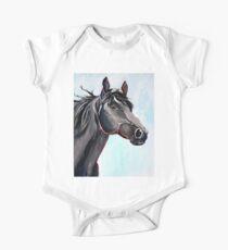 Born Free - Horse Art by Valentina Miletic One Piece - Short Sleeve