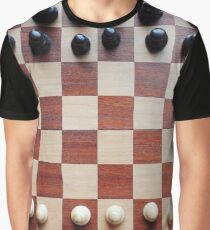 Chessboard, chess pieces Graphic T-Shirt