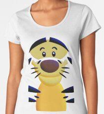 Cute Smiley Cat Women's Premium T-Shirt