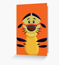 Cute Smiley Cat Greeting Card