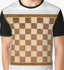 Chess board, playing chess, any convenient place Graphic T-Shirt