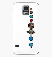 Planeten Farbe Hülle & Skin für Samsung Galaxy