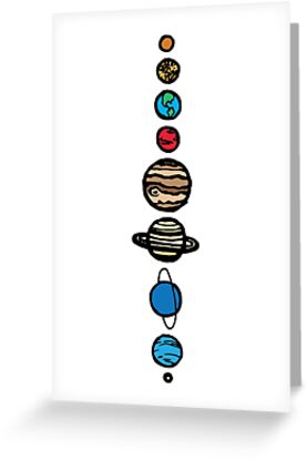 Planets Colour by TPdesigns