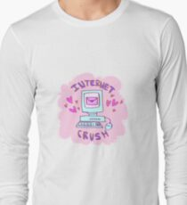internet crush tumblr aesthetic Long Sleeve T-Shirt